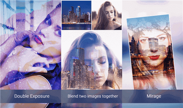 Blend 2 Pics is a free Android photo-editing app