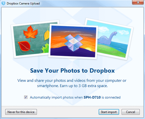 Dropbox is easy to use and offers 3GB of free storage to its users.