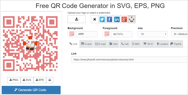 ForQRCode is undoubtedly the best choice if you are looking for a neat and hassle-free QR code generator.