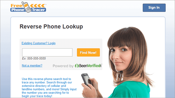 Free Phone Tracer is a free website which you can use to find current location by phone number.