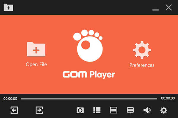This is a comprehensive all in one media player supporting all the major file formats.