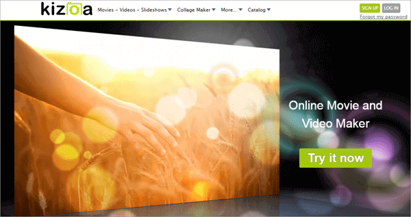 Kizoa is a free photo slideshow maker with music and collage maker.