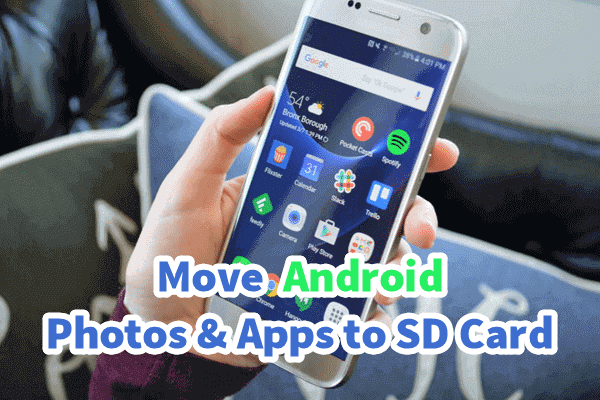How to Move Pictures and Apps to SD Card on Android