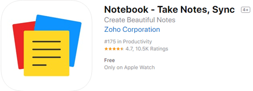 Notebook is a completely free note taking app for iPad, and it is also ad-free.