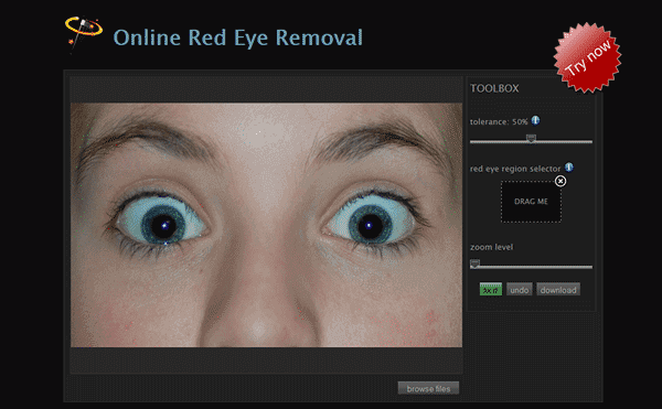 Remove Red Eye Online