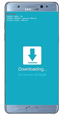 Boot Samsung Galaxy into Download Mode