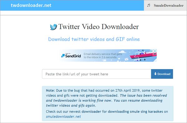 With this simple Twitter video downloader, you get all the tools and features you need in a single package.