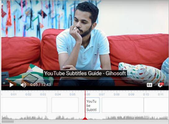 Use YouTube Subtitle Generator Tool