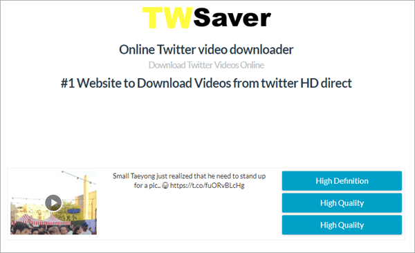 TWSaver is very interesting because it's an online-based tool.