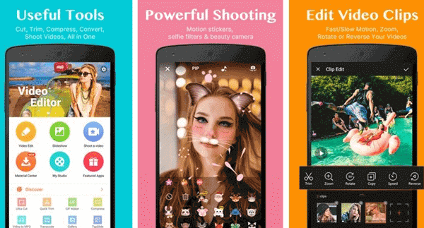 VideoShow is an easy-to-use and practical video slideshow maker for both film makers and beginners.