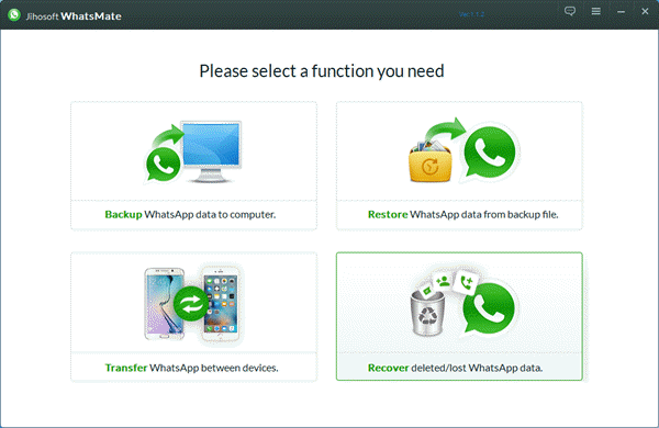 Find Deleted WhatsApp Messages and Media Files Back