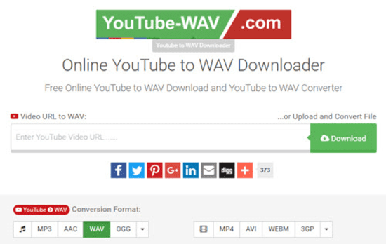Youtube-WAV is the web-based application used for converting the video from one format to other formats.
