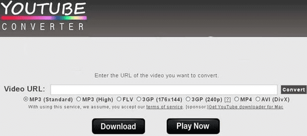 Initially the Ytconv.net just used as the video converter but now it can also used as the youtube video ripper.