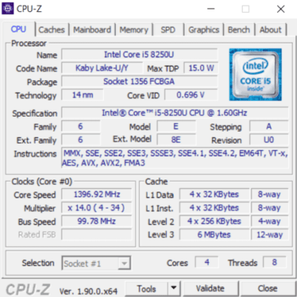 CPUz is an accurate system information software with integrated CPU benchmarking tool.