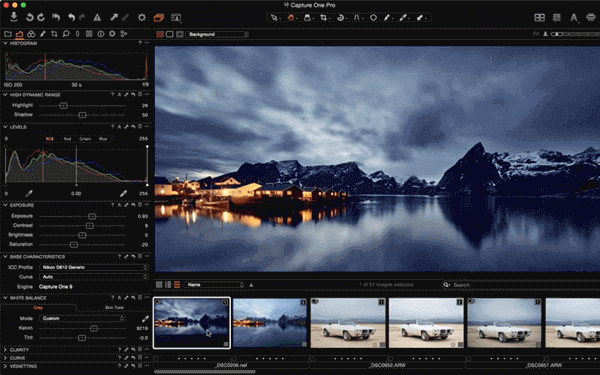 Capture One is the software for Mac users who are willing to have a photo management software