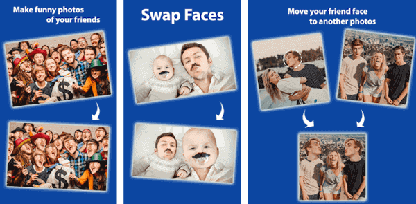 Cupace is another Android face swap app