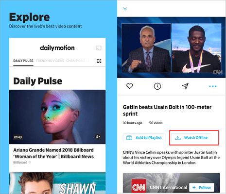 How to Download Videos from the Dailymotion App