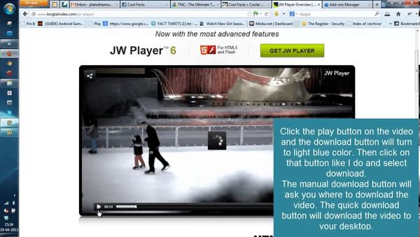 JWPLAYER CHROME VIDEO TÉLÉCHARGER