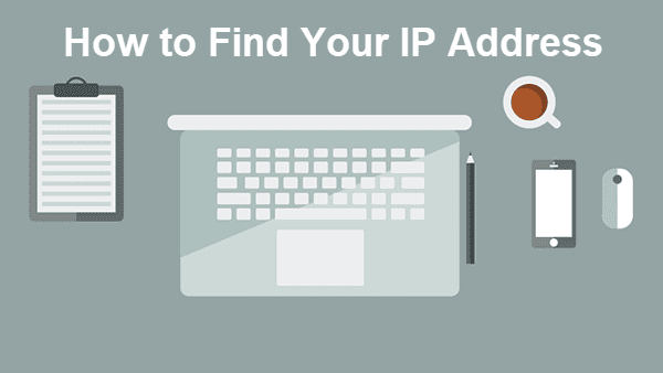 Find the IP Address of PC
