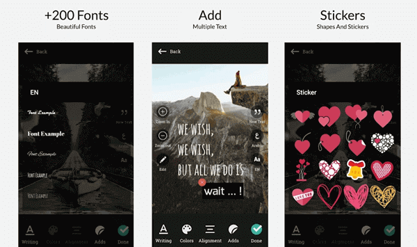 Everyone who uses this Font editor app can be a font master