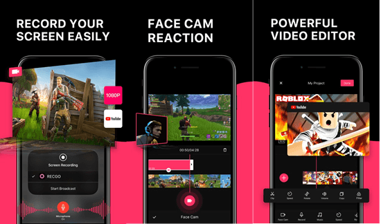 Screen Recorder + is an all-in-one iOS screen recording app you should never miss.