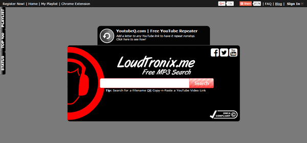 LoundTronix is also another great alternative for MP3 Monkey.