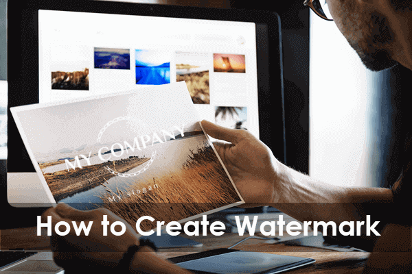 Create Watermark Logo