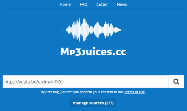 Mp3Juices is a free mp3 search engine and tool.