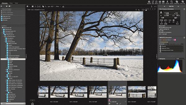 Nikon ViewNX-i is a photo organizer app for Windows 10.