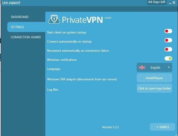Like other VPN services, PrivateVPN is also a versatile VPN solution for Netflix.