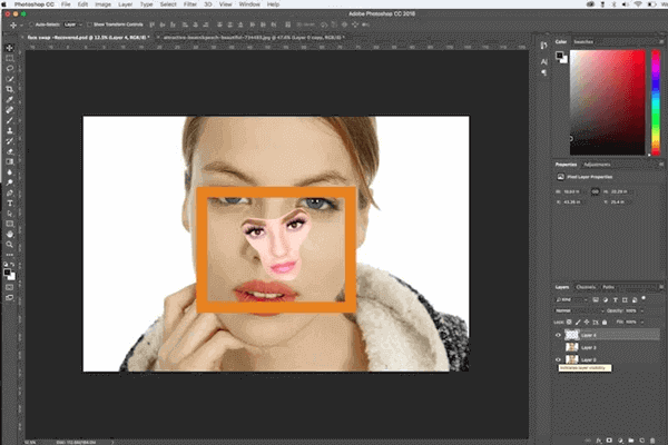 How To Replace Face In Photo With Photoshop