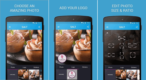 Salt might be a bit confusing but this app was among the most popular text on photo apps last year.