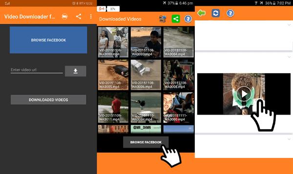 Using Video Downloader for Facebook to Download Facebook Videos
