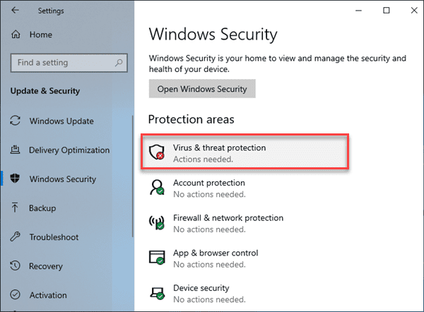 How to Turn off Windows Defender Temporarily