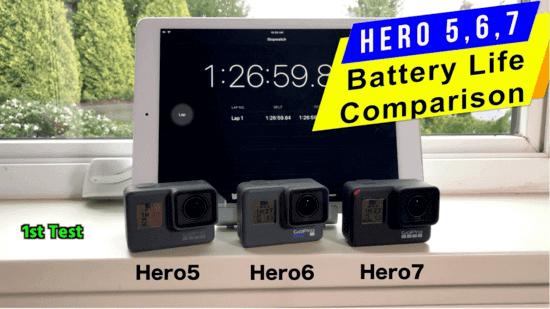 GoPro Battery Last