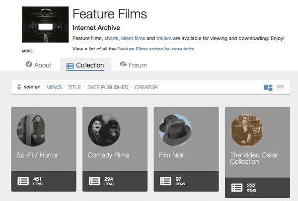 Our fifth entry is the Internet Archive.