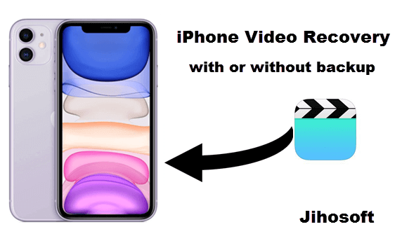 Recover Permanently Deleted Videos from iPhone
