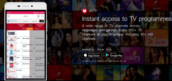 Downloading and installing JioTV for PC