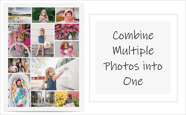 Combine Multiple Photos into One