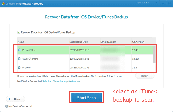 Recover Deleted WhatsApp Messages from iTunes Backup