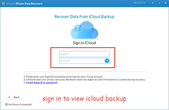 Retrieve Deleted Videos from iCloud Backup