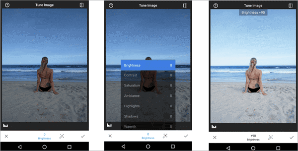 How to edit dark photos with Snapseed