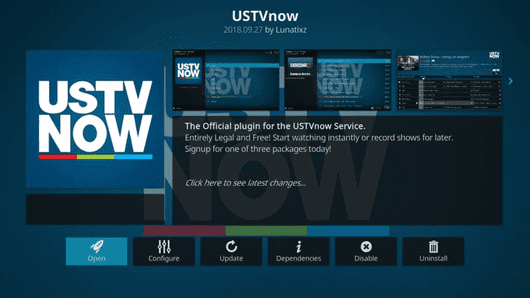 USTV now an add-on for Kodi media player is an ideal option for the users