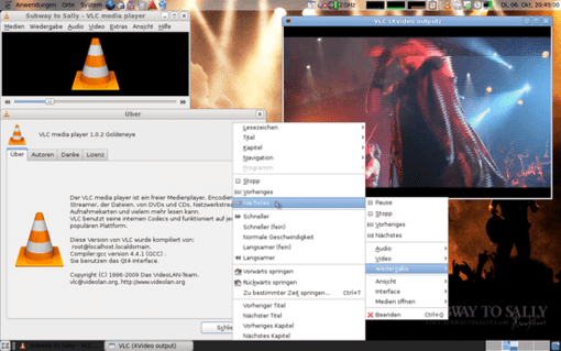 Our very 1st entry is the popular VLC media player.