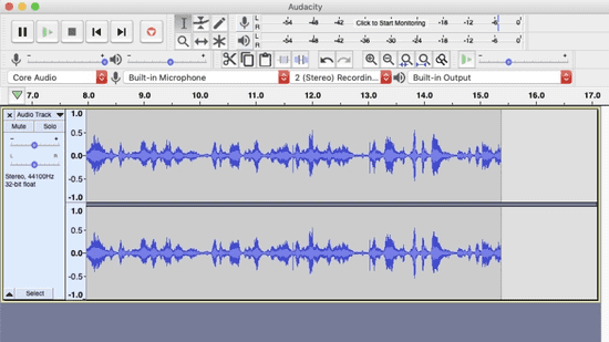 You can convert YouTube video to MP3 using Audacity