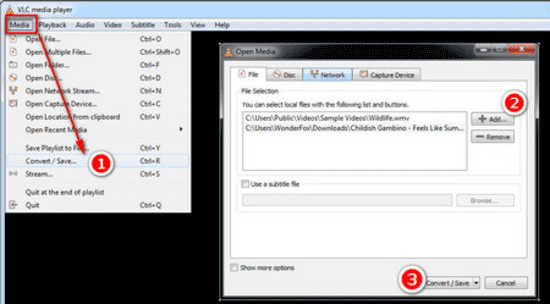 Our 5th entry is VLC, software that you can use to convert YouTube videos to audio files.