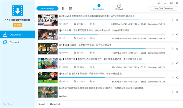 How to use Jihosoft Free Video Downloader to download Videos from Bilibili.