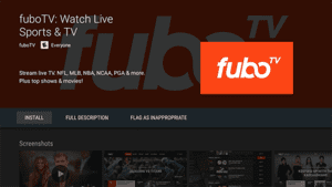 FUBO TV tennis streaming website is yet another very popular website