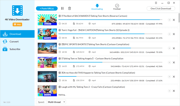 Within Jihosoft 4K Video Downloader, you can also get the best YouTube downloader app for Android experience