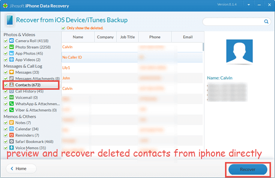 How to Recover Deleted Contacts on iPhone without backup